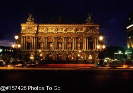 L Opera, at night, Paris